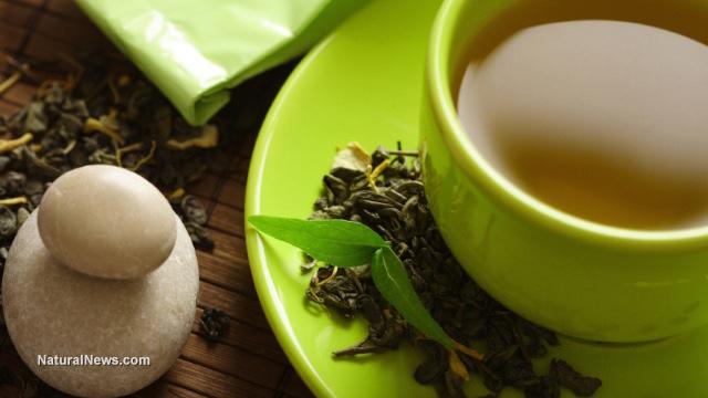 Чаша-зелен-чай